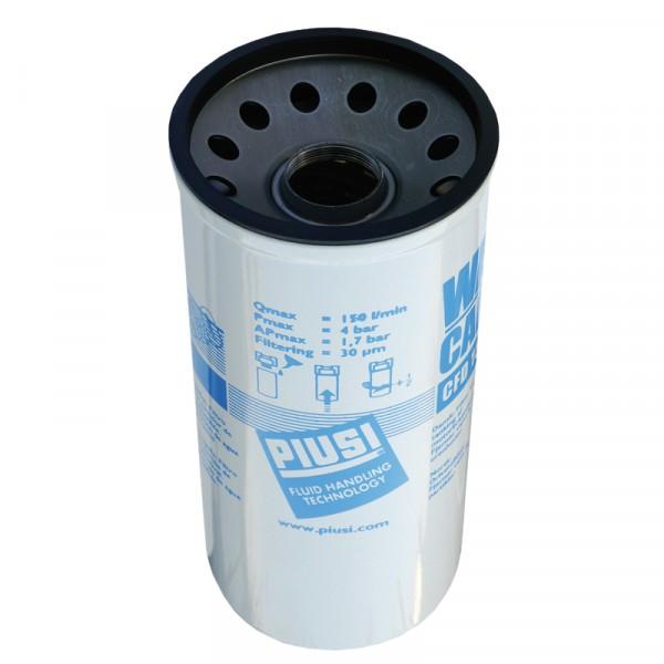Ersatzfilterkartusche mit Wasserabscheider max. 150 l/min