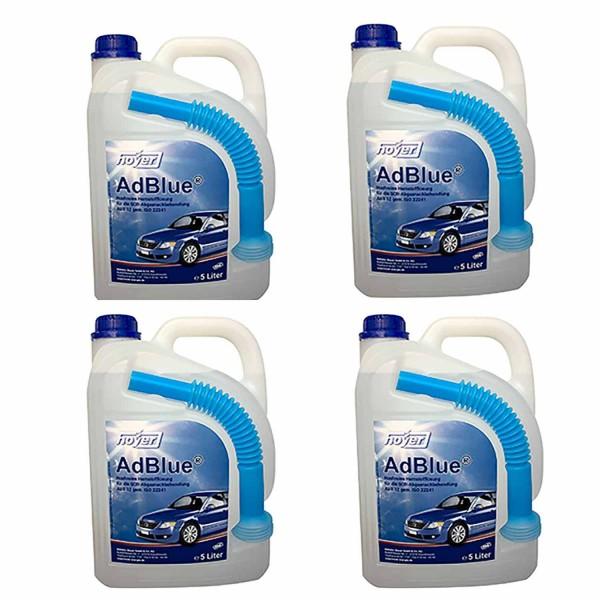 4 x 5 Liter StationPack AdBlue® mit Ausgießer