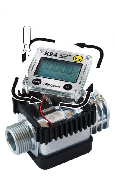 Digitaler Durchflussmengenzähler K24-ATEX