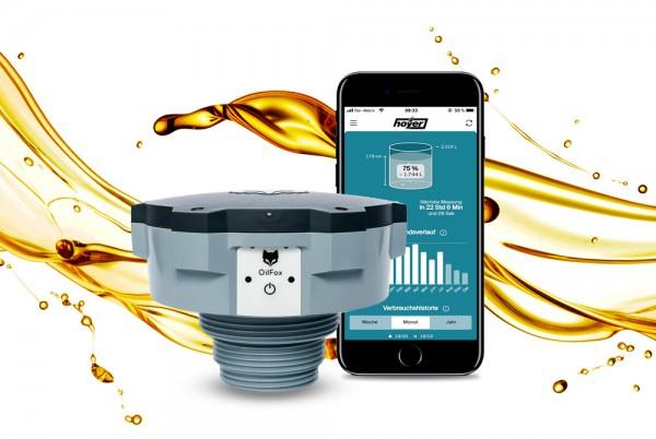 OilFox 2 - digitaler Füllstandsmesser für Heizöl- und Dieseltanks